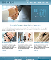 Custom Website Design for Accountants
